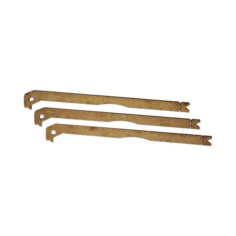 MicroDelta Original heatbed complete Kit
