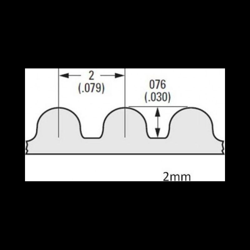 GT2 timing Belt kit for Prusa I3 Rework