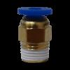 Pneufit fileté 1/8 pour tube de 4mm